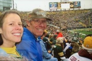 I did make a pilgrimage with my Dad to Lambeau Field in 2007, in honor of Brett Favre's final season as a Packer. I look forward to my return trip for the Cellcom Green Bay Marathon!